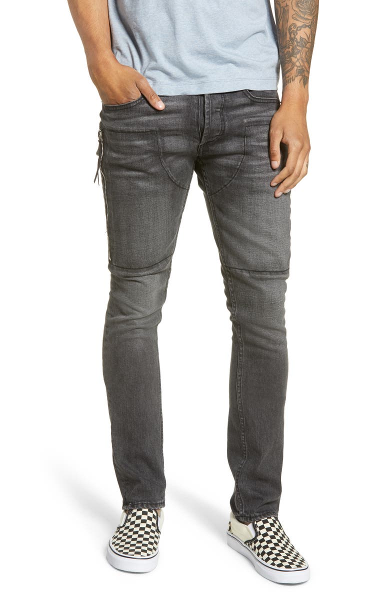 MRCLA Trafford Slim Straight Leg Jeans, Main, color, GREY
