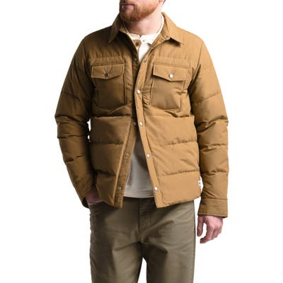 The North Face Sierra Quilted 600 Power Fill Recycled Down Jacket, Brown