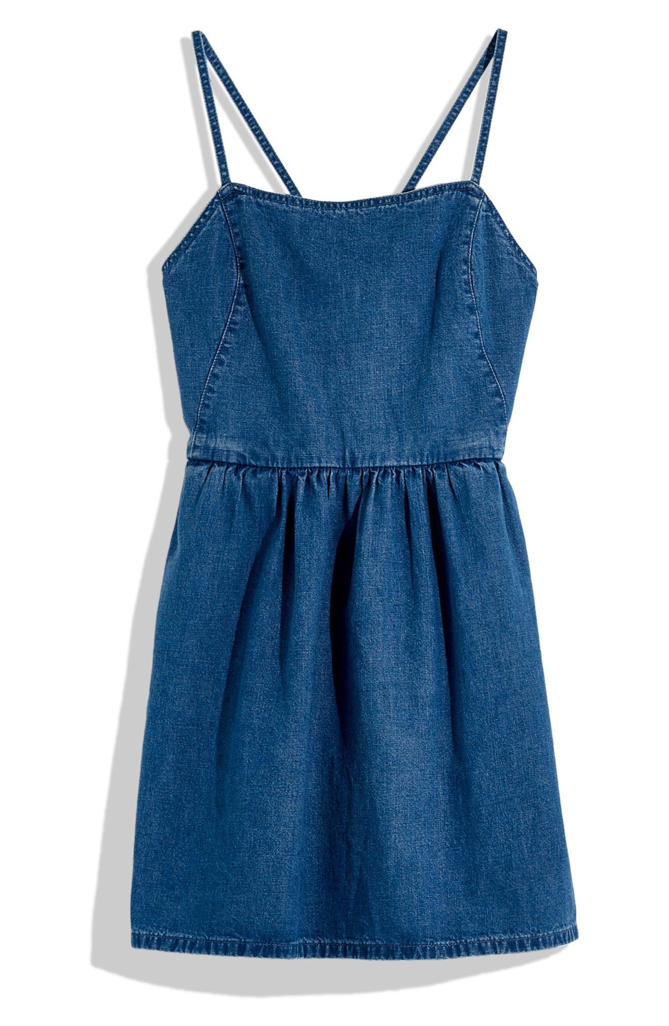 Madewell Denim Apron Dress