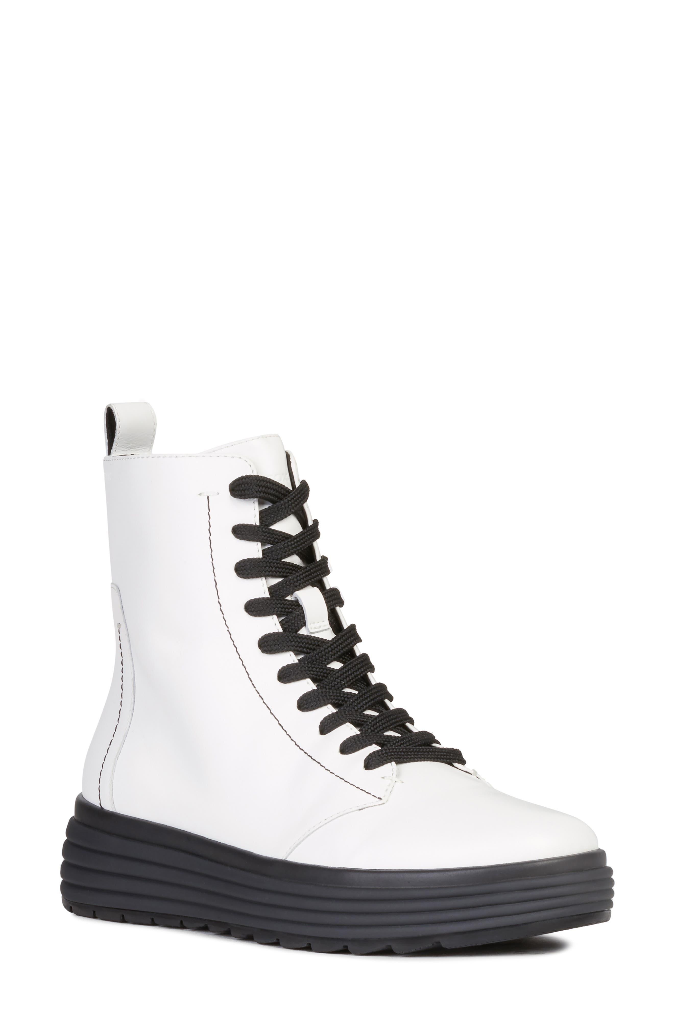 Geox Phaloae Boot, White
