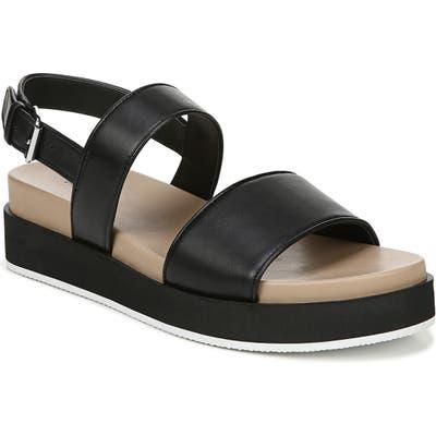 Via Spiga Davi Platform Sandal, Black