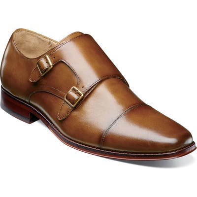 Florsheim Imperial Palermo Double Monk Strap Shoe - Brown