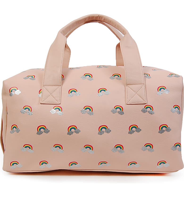 OMG ACCESSORIES OMG Rainbow Duffle Bag, Main, color, 650