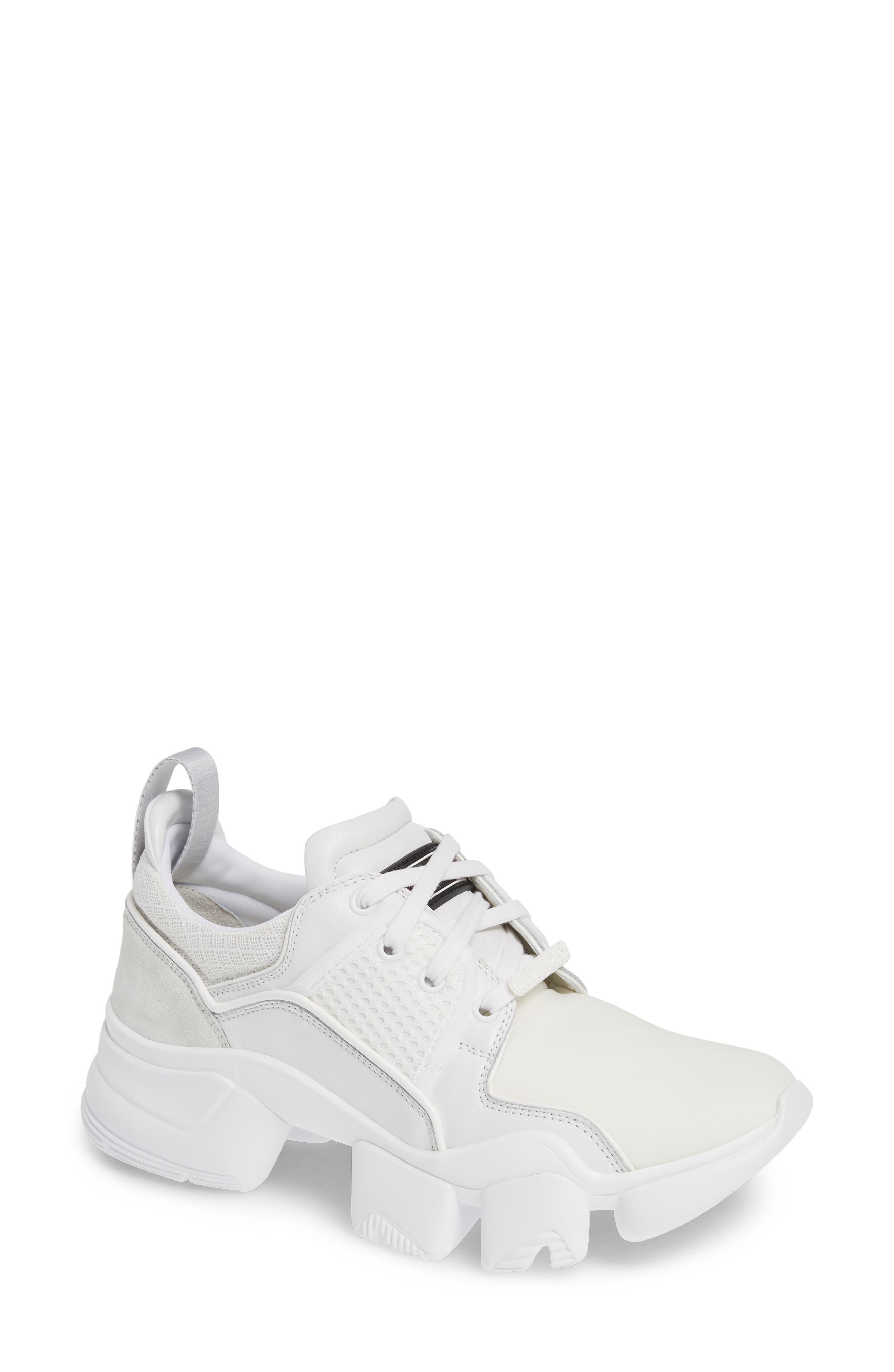 ,                             Jaw Sneaker,                             Main thumbnail 1, color,                             WHITE