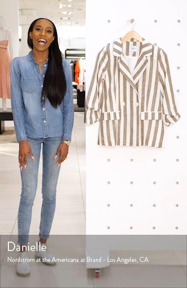 Chriselle Lim Cherie Stripe Blazer, sales video thumbnail