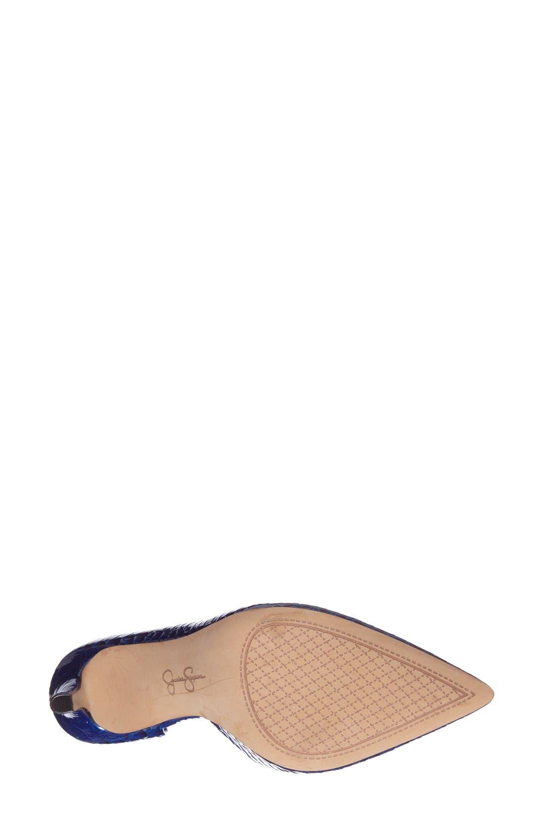,                             'Claudette' Half d'Orsay Pump,                             Alternate thumbnail 174, color,                             405