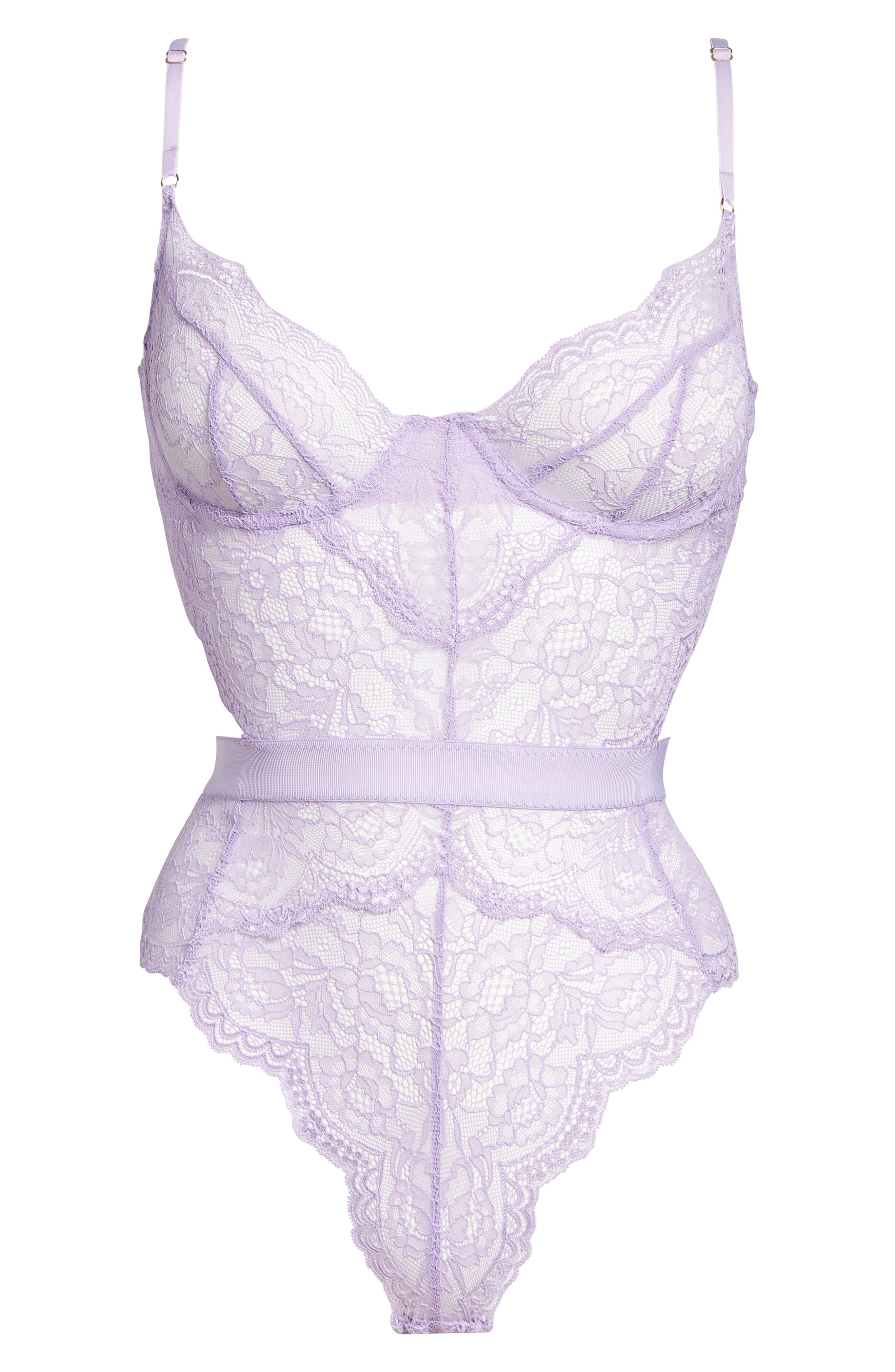 Hold Me Tight Underwire Thong Bodysuit