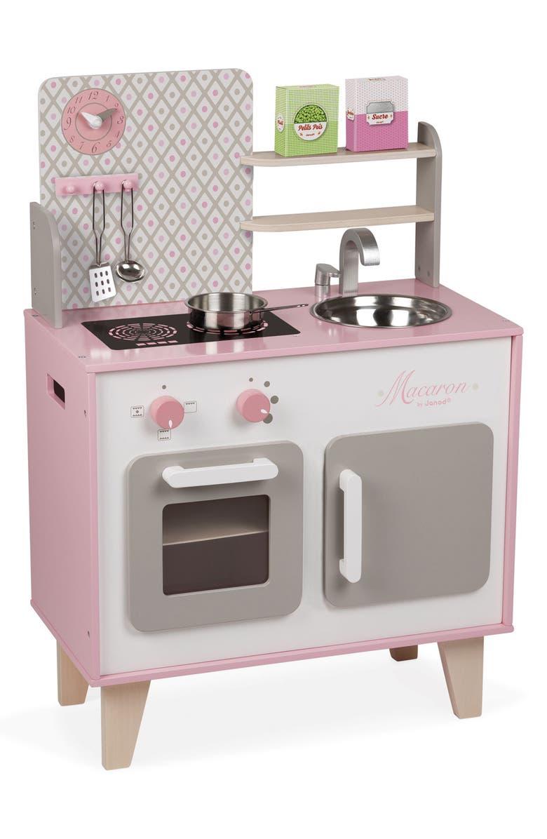 JANOD Wood Kitchen, Main, color, PINK