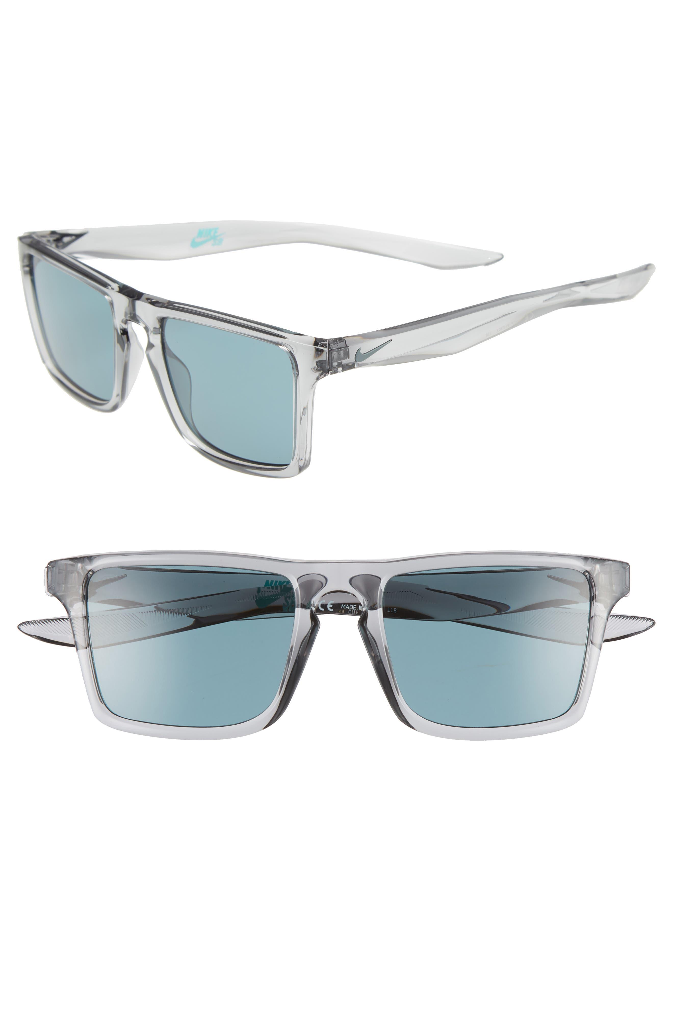 Nike Verge 52Mm Sunglasses - Wolf Grey/ Teal