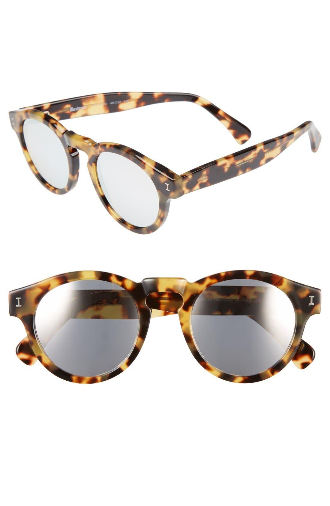 ,                             'Leonard' 47mm Sunglasses,                             Main thumbnail 75, color,                             204