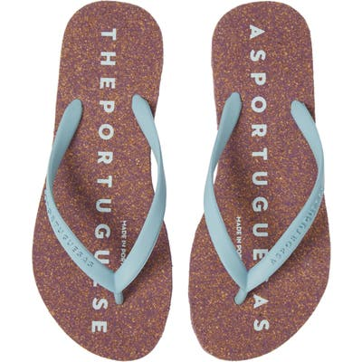 Asportuguesas By Fly London Base Flip Flop, 9/40 - Blue