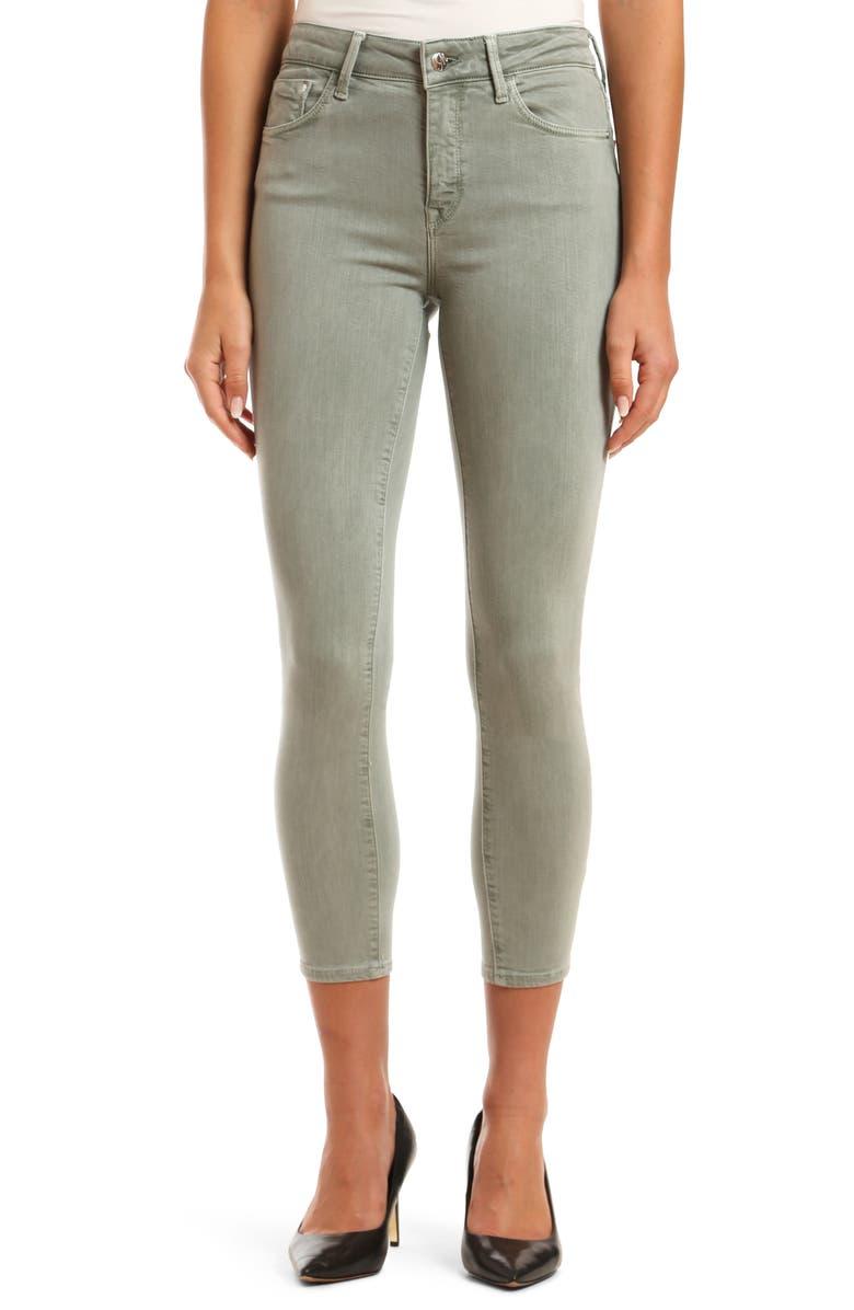 MAVI JEANS Tess SuperSoft High Waist Ankle Skinny Jeans, Main, color, 300