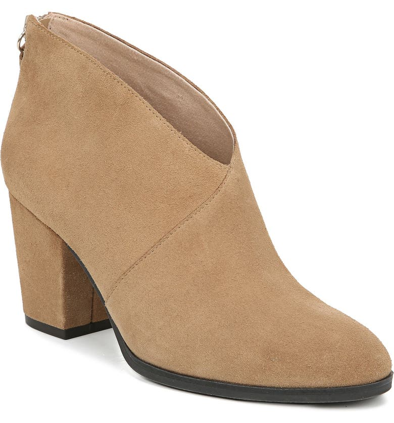 DR. SCHOLL'S All Good Bootie, Main, color, NUDE SUEDE