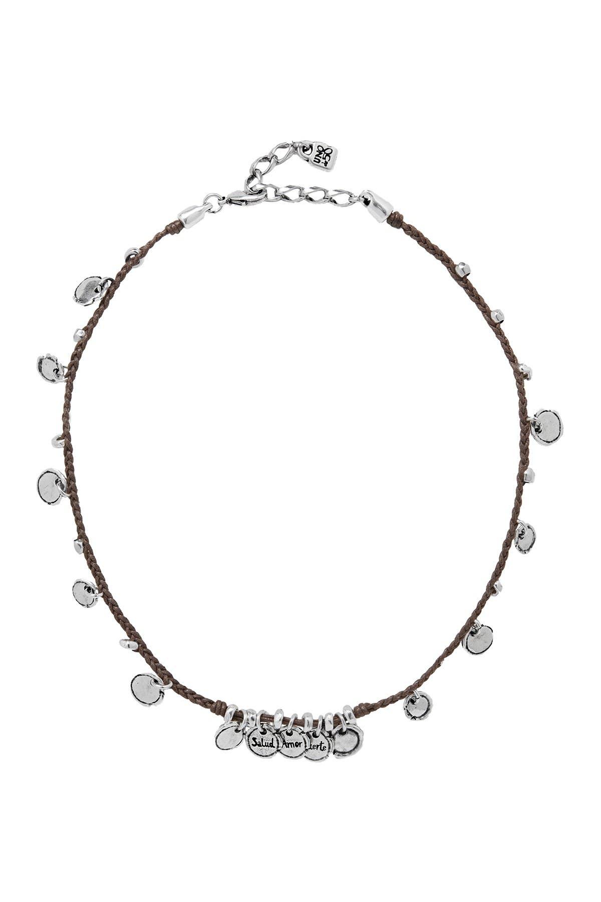 Image of Uno De 50 Wax Seal Necklace