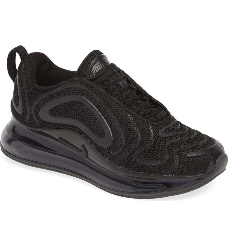 NIKE Air Max 720 Sneaker, Main, color, BLACK/ BLACK-BLACK