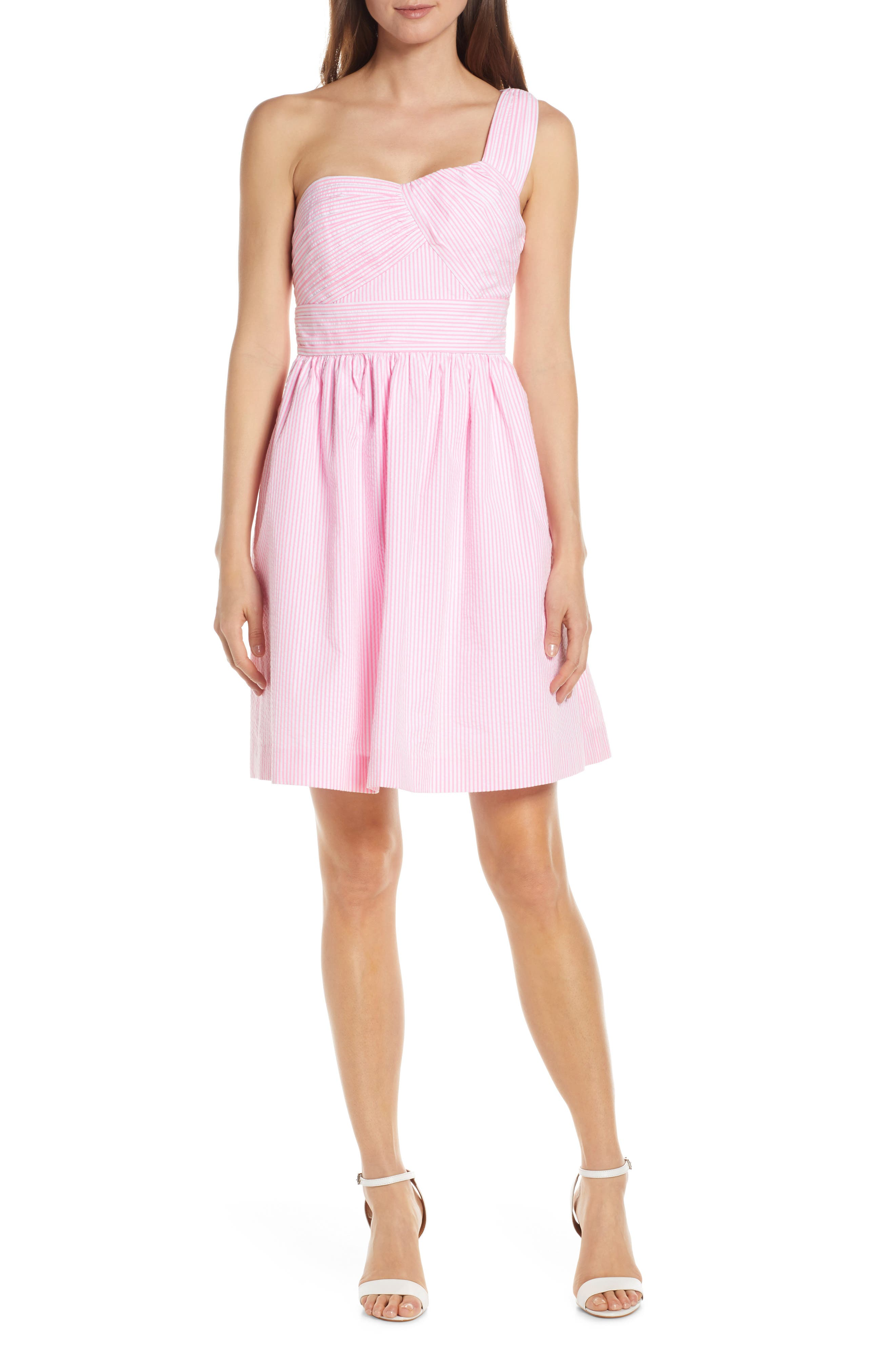 Lilly Pulitzer Addison Fit & Flare Dress, Pink