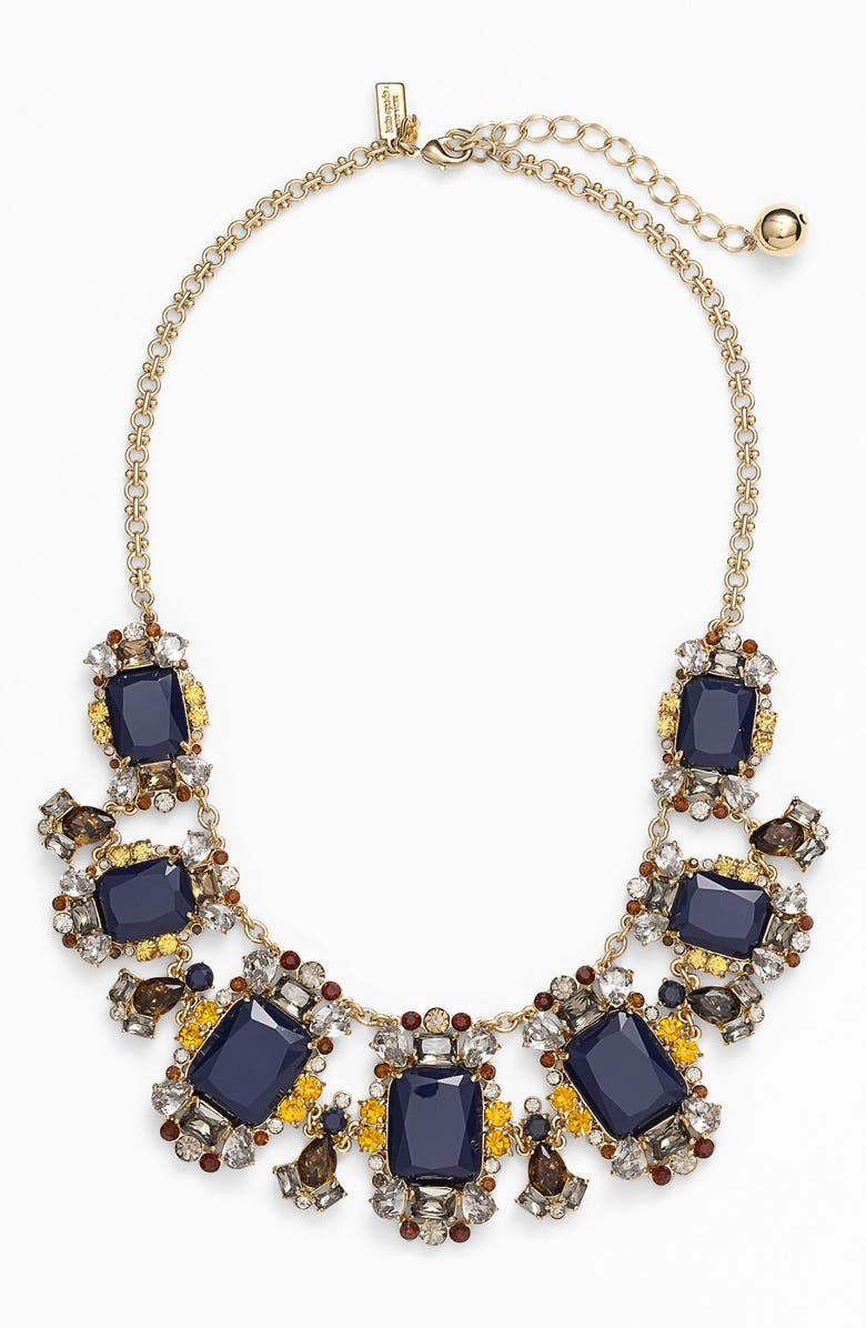 KATE SPADE NEW YORK 'that's the ticket' statement necklace, Main, color, 401