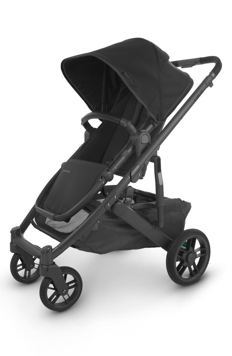 UPPABABY CRUZ V2 Stroller, Main, color, JAKE CHARCOAL