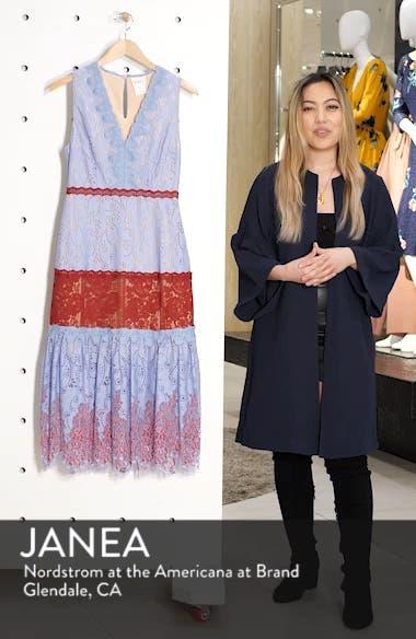 Fifi Lace Tea Length Dress, sales video thumbnail