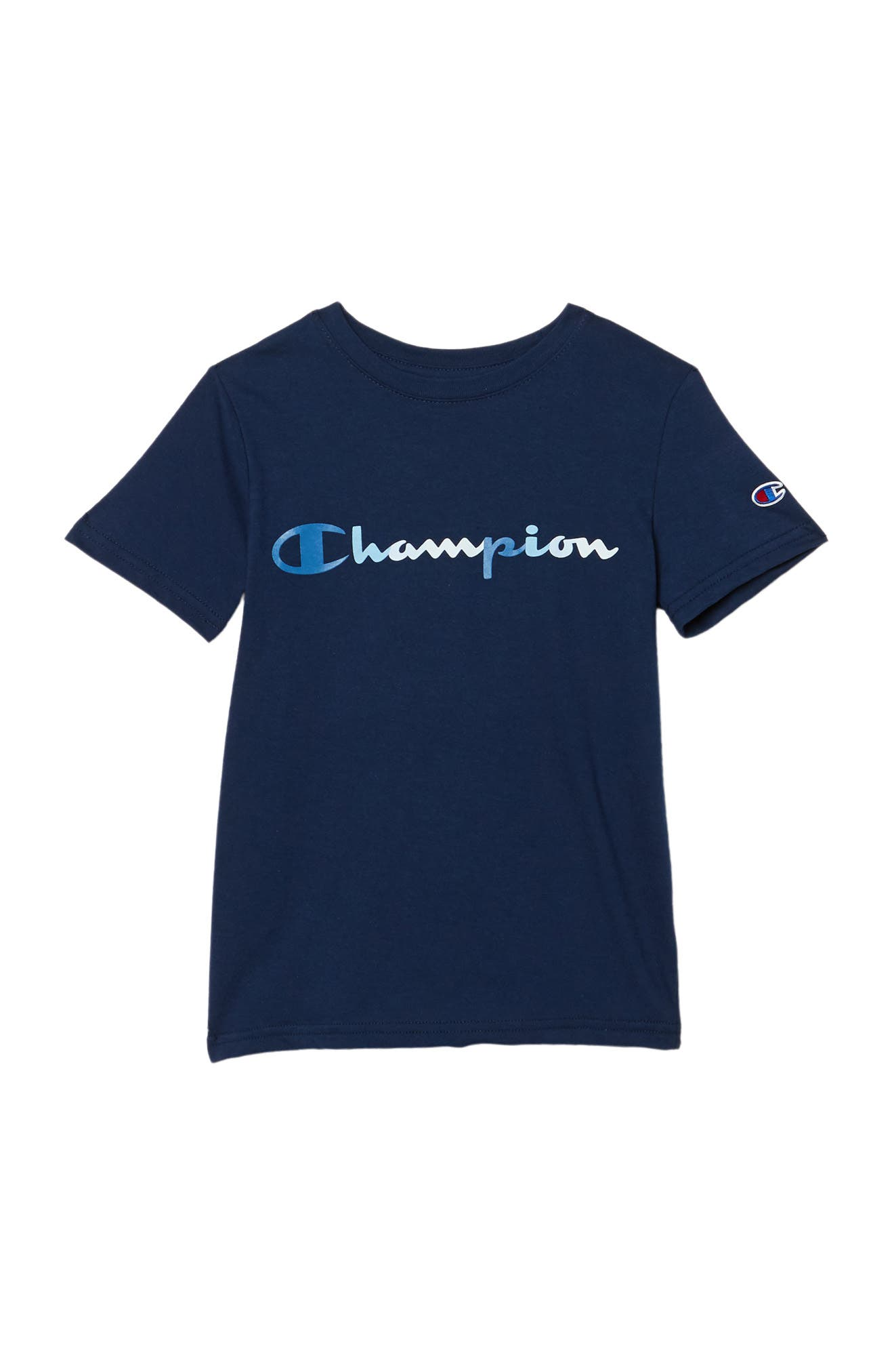 Image of Champion Tonal Script Graphic T-Shirt