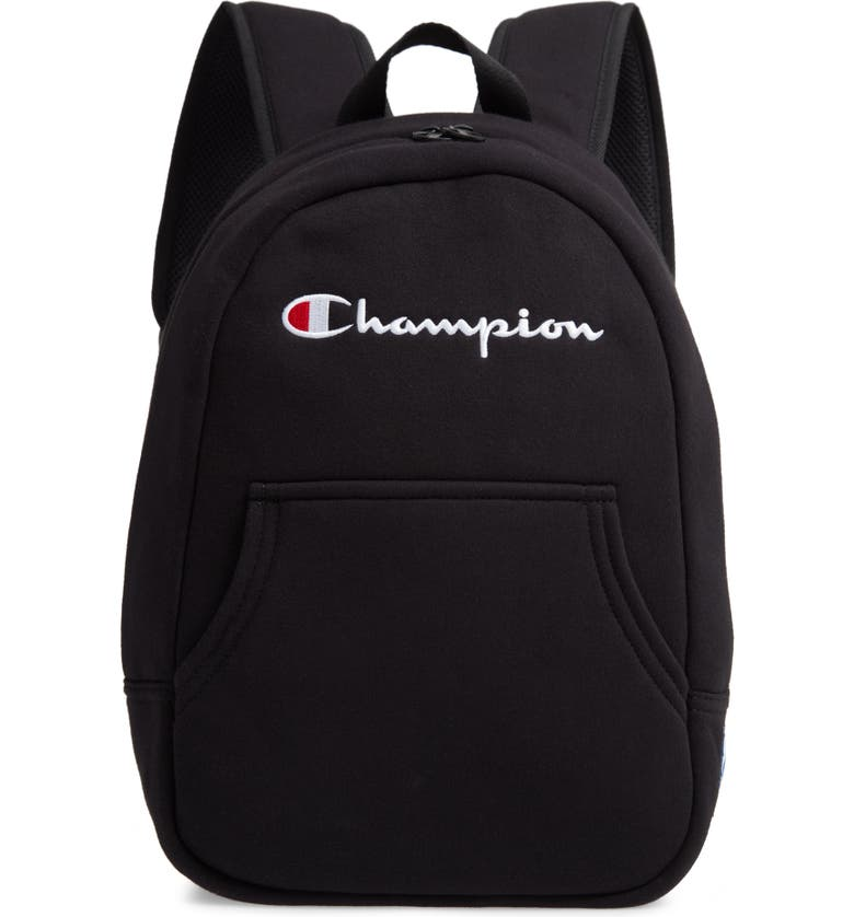 CHAMPION Reverse Weave Backpack, Main, color, BLACK