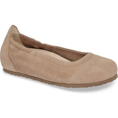 Birkenstock Celina Ii Ballet Flat,7.5 - Grey