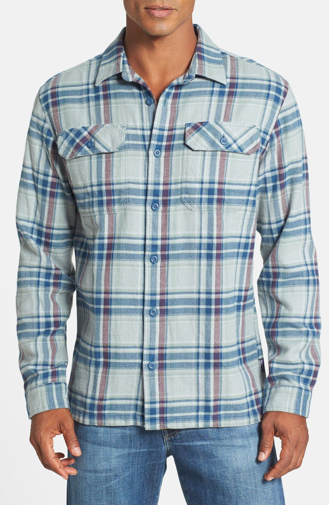 ,                             'Fjord' Regular Fit Organic Cotton Flannel Shirt,                             Main thumbnail 67, color,                             023