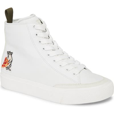 Rag & Bone Pizza Rat High Top Sneaker - White