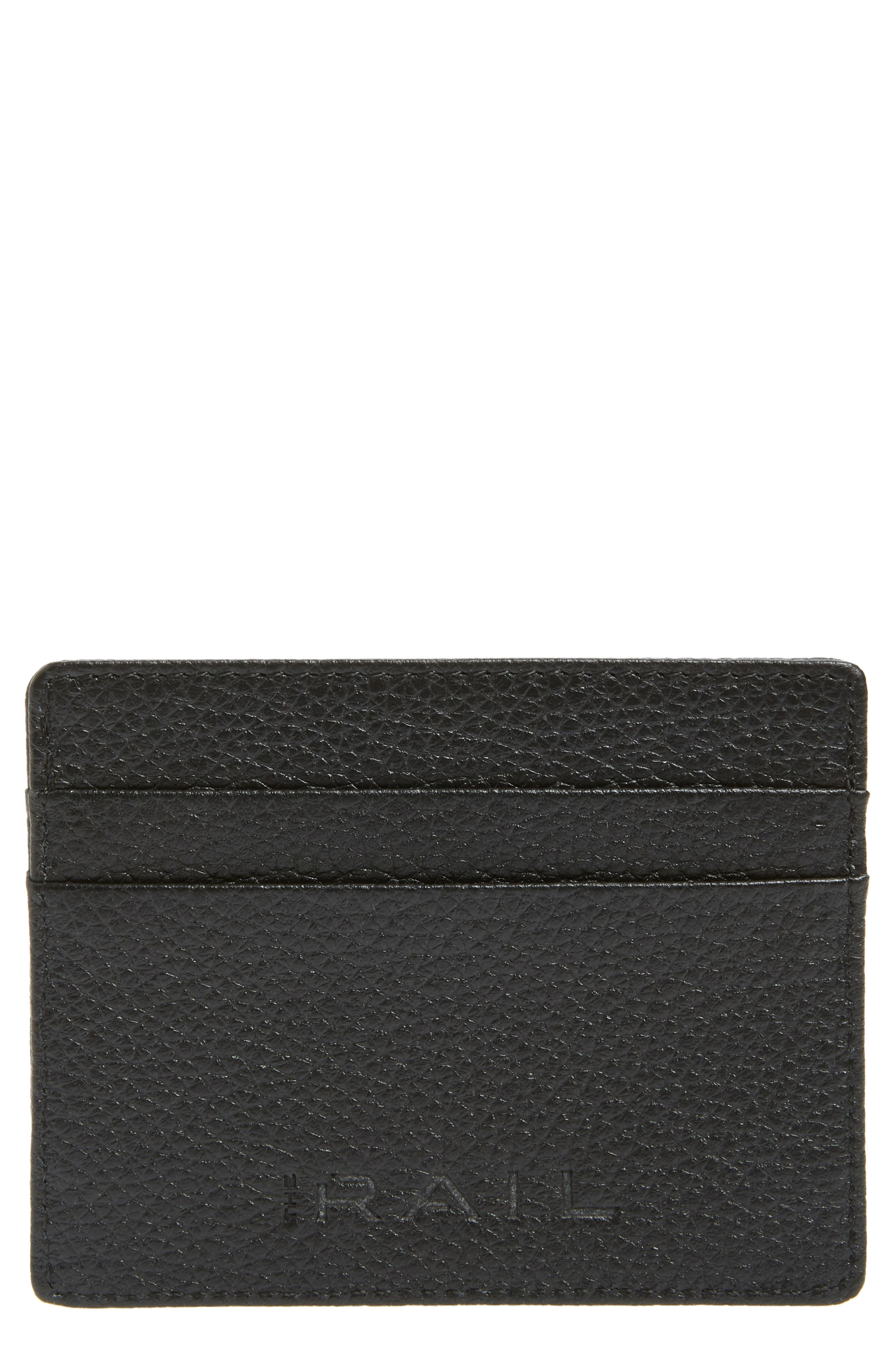 ,                             Jamie Leather Card Case,                             Main thumbnail 1, color,                             001