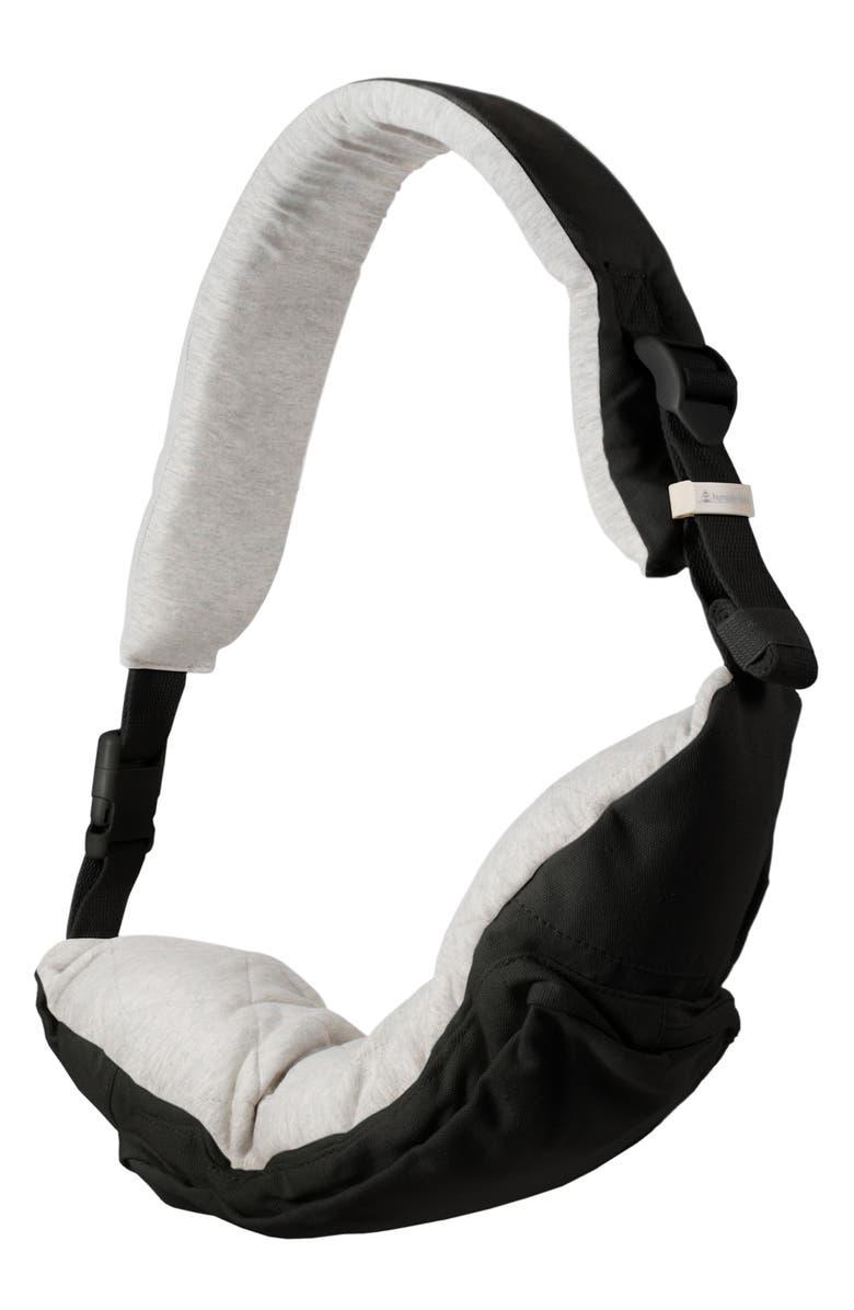 HUMBLE-BEE Nurse Sling Nursing Pillow, Main, color, BLACK