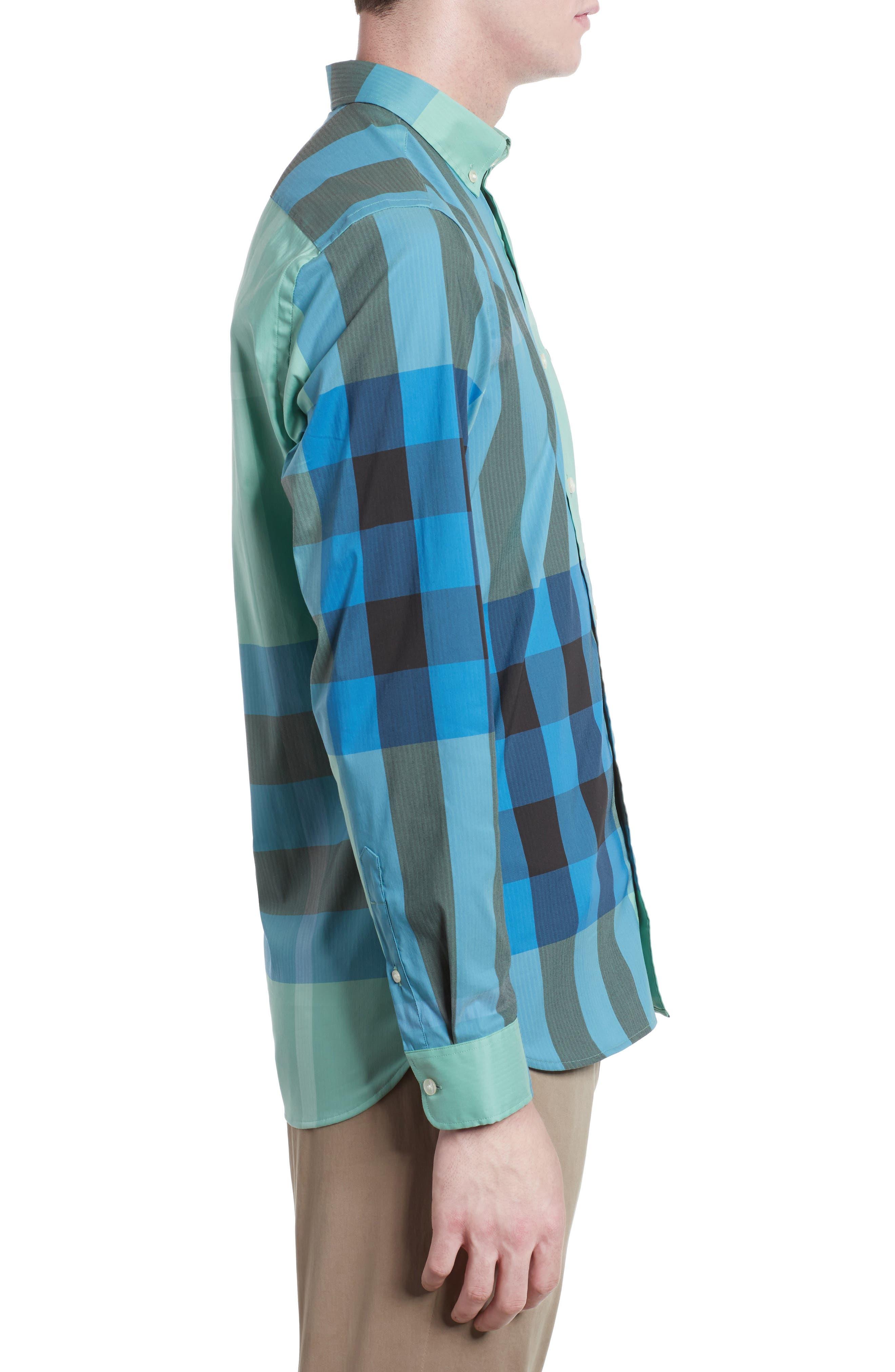 ,                             Thornaby Slim Fit Plaid Sport Shirt,                             Alternate thumbnail 37, color,                             453