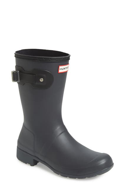 Image of Hunter Original Tour Short Packable Rain Boot