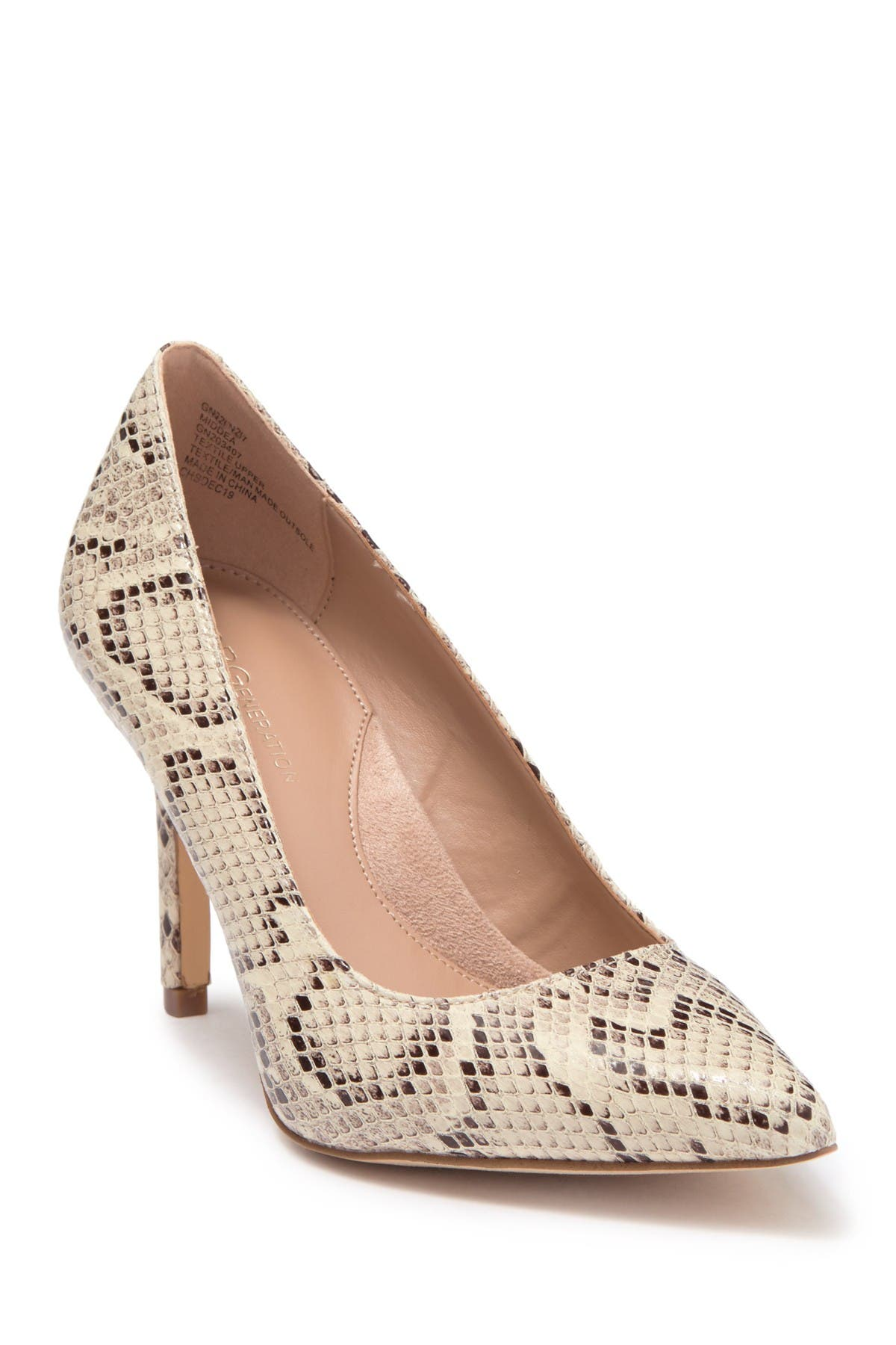 Image of BCBGeneration Middea Pointed Toe Pump