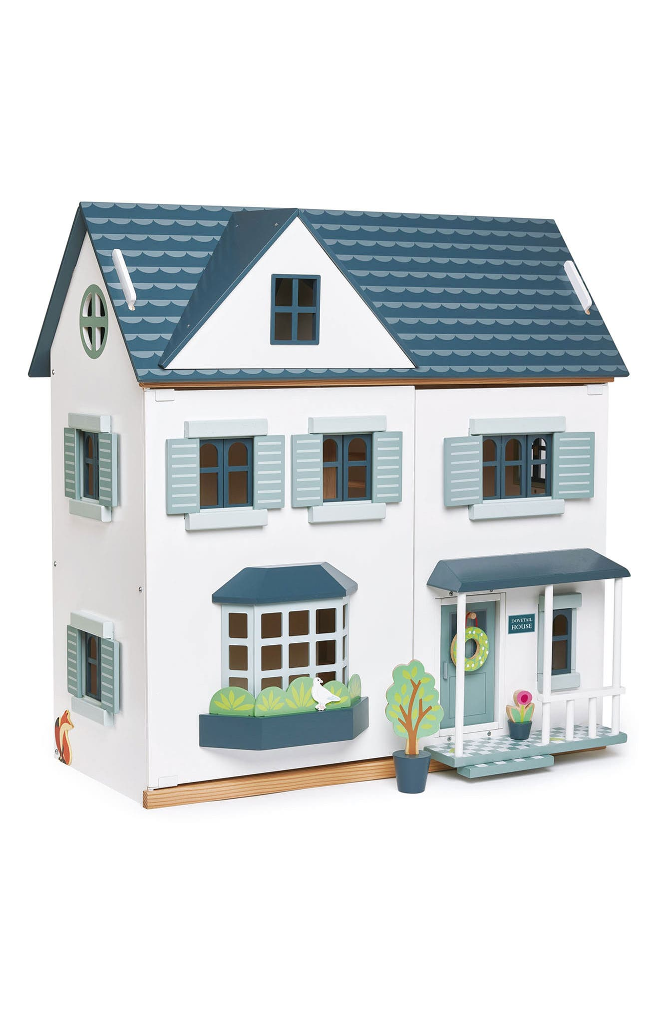 Toddler Girls Tender Leaf Toys Dovetail Wooden Dollhouse