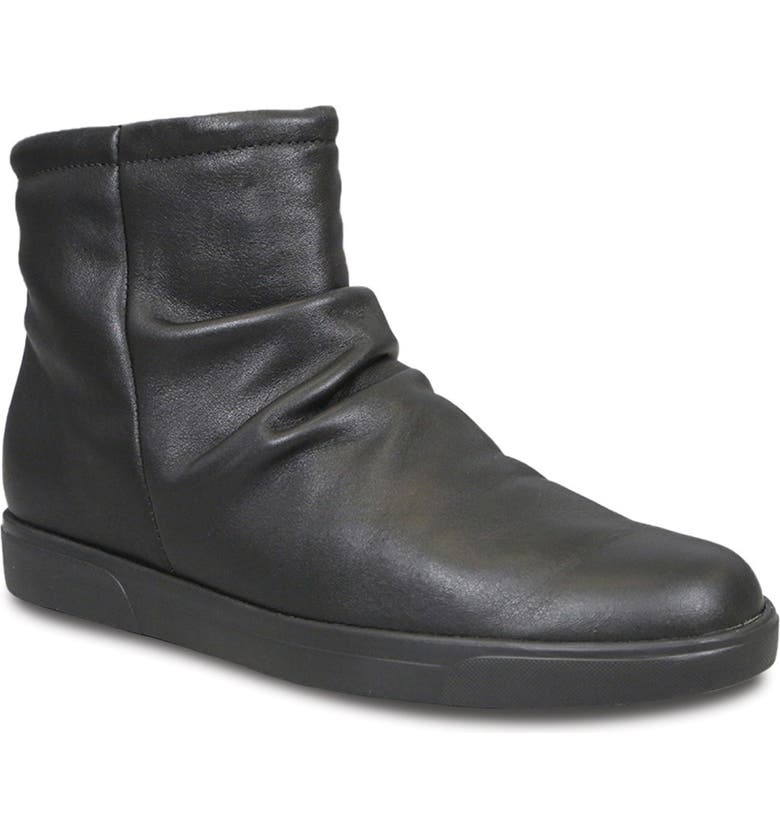MUNRO Abbot Bootie, Main, color, BLACK LEATHER