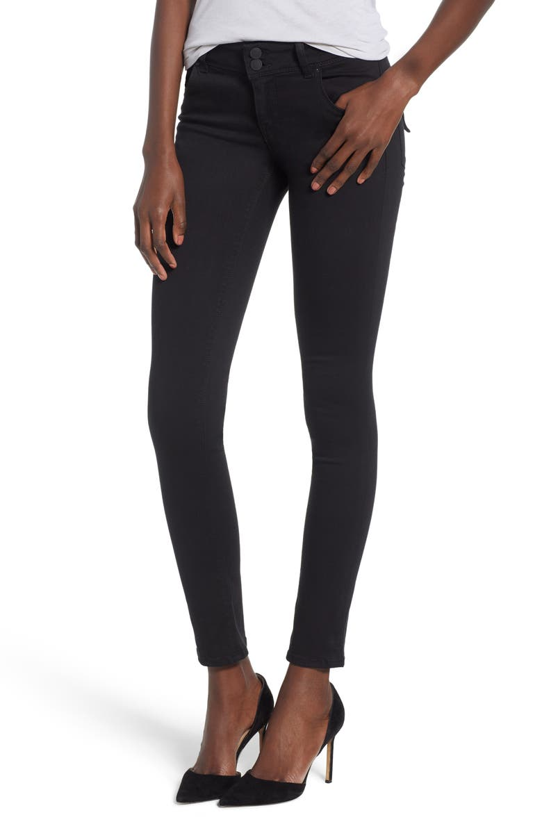 HUDSON JEANS Collin Skinny Jeans, Main, color, 001