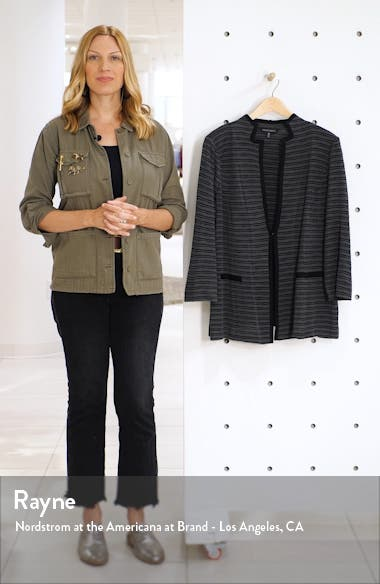 Stripe Knit Jacket, sales video thumbnail