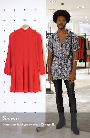 Pleat Shift Dress, sales video thumbnail