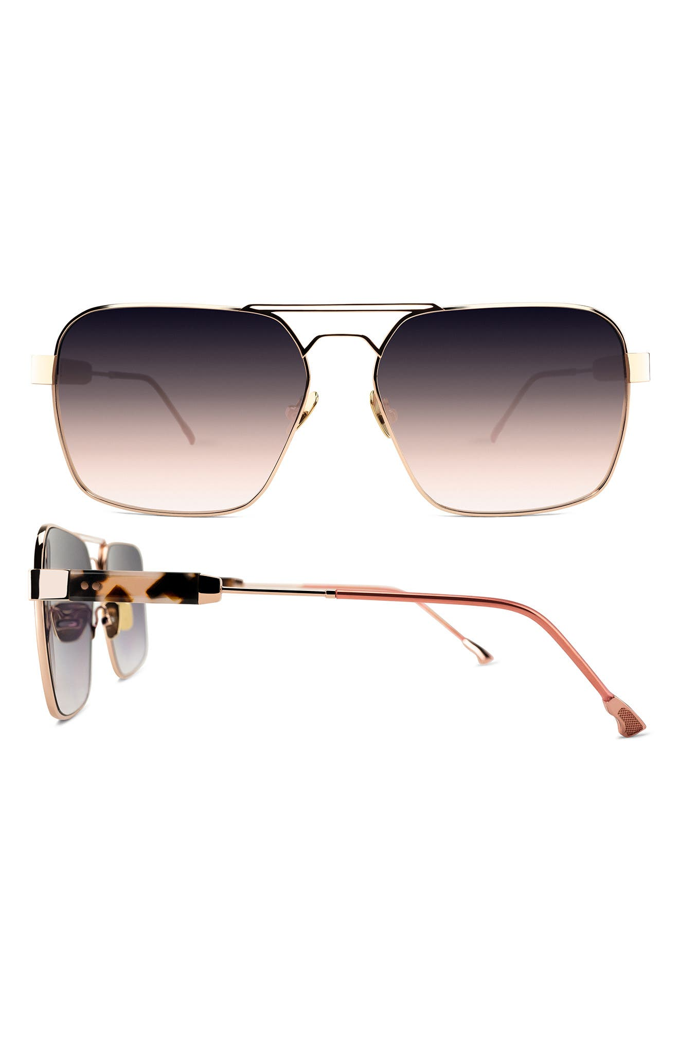 Zen 61mm Navigator Sunglasses