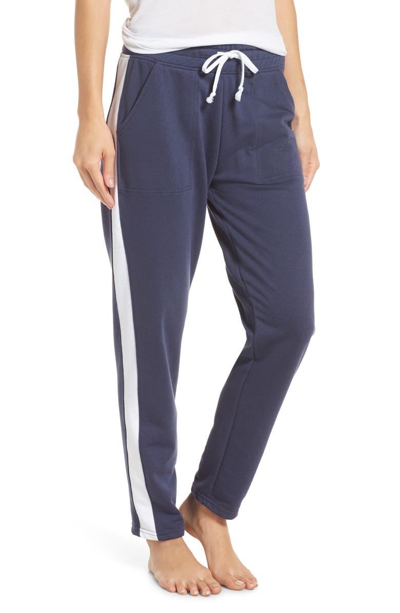 ALTERNATIVE Stripe Track Pants, Main, color, 472