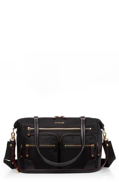 Mz Wallace Travel TRIBECA TRAVELER BAG - BLACK