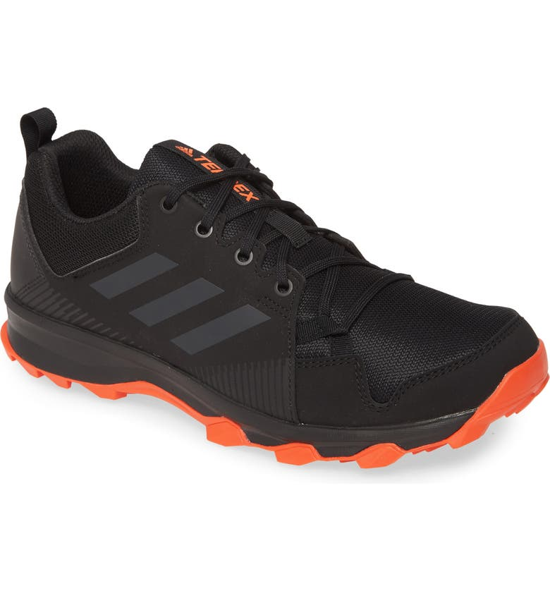 ADIDAS Terrex Tracerocker Trail Running Shoe, Main, color, BLACK/ CARBON/ ORANGE