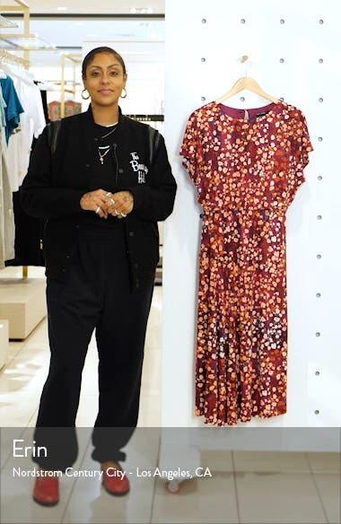 Floral A-Line Dress, sales video thumbnail