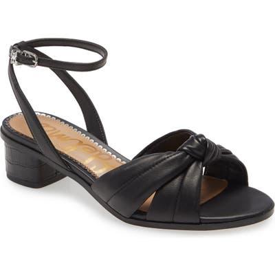 Sam Edelman Ingrid Ankle Strap Sandal- Black