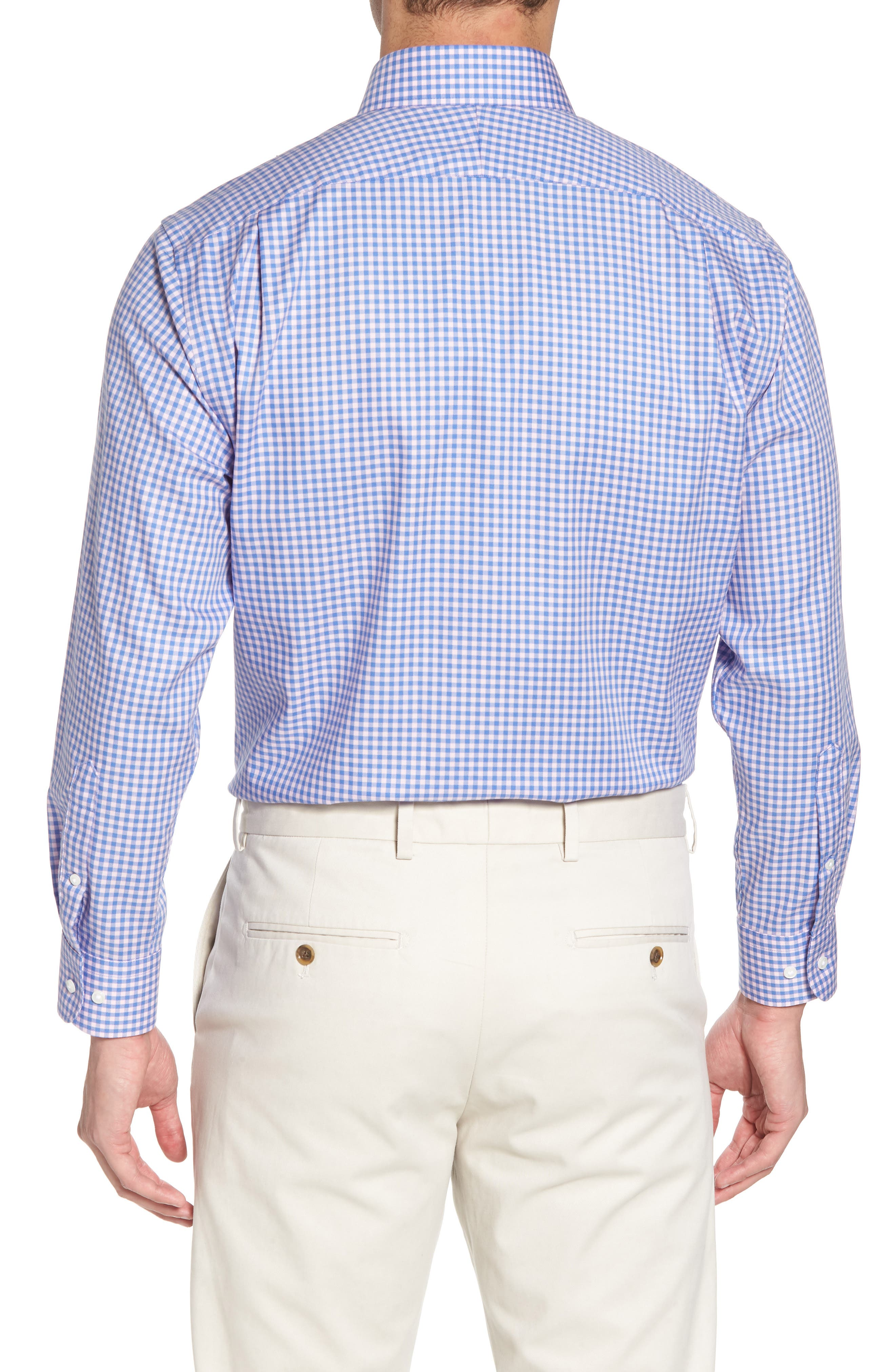 ,                             Traditional Fit Non-Iron Gingham Dress Shirt,                             Alternate thumbnail 29, color,                             650