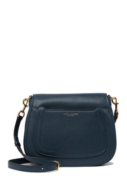 Image of Marc Jacobs Empire City Messenger Leather Crossbody Bag
