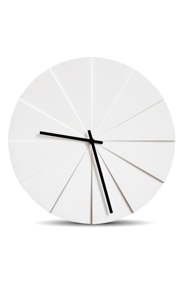 LEFF AMSTERDAM Scope Wall Clock, Main, color, WHITE