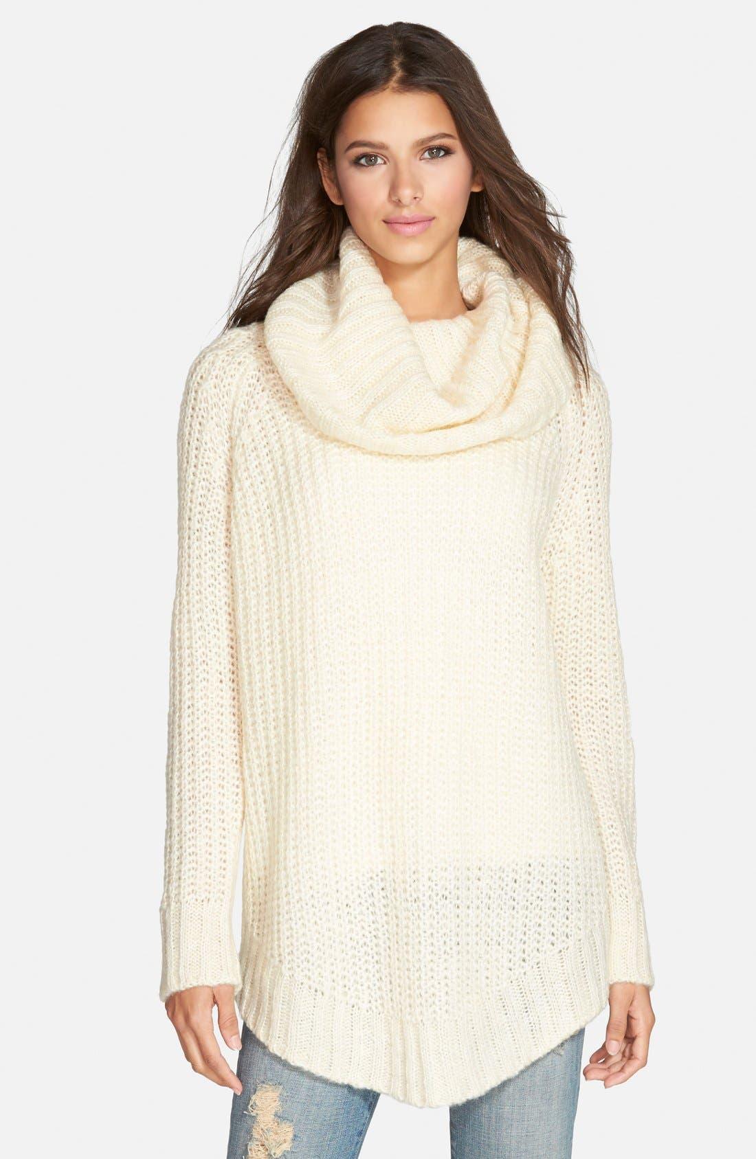 ,                             Cowl Neck Sweater,                             Main thumbnail 40, color,                             900