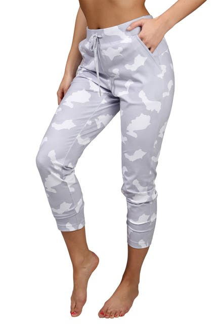 Image of 90 Degree By Reflex Lux Camo Side Pocket Jogger With Drawstring
