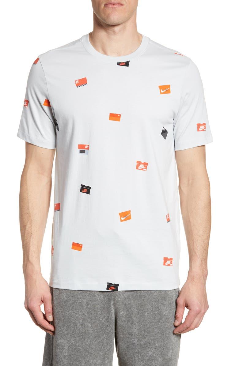 Nike Sportswear Footwear Logo T Shirt